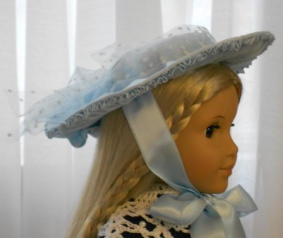 Inspired by an early 1800's French Doll Hat